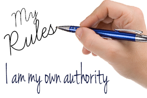 I Am My Own Authority
